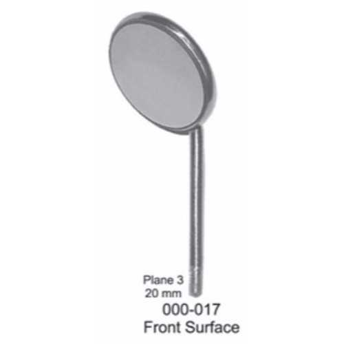 Mouth Mirror Front Surface - Plane #3, 20mm (12/pk)