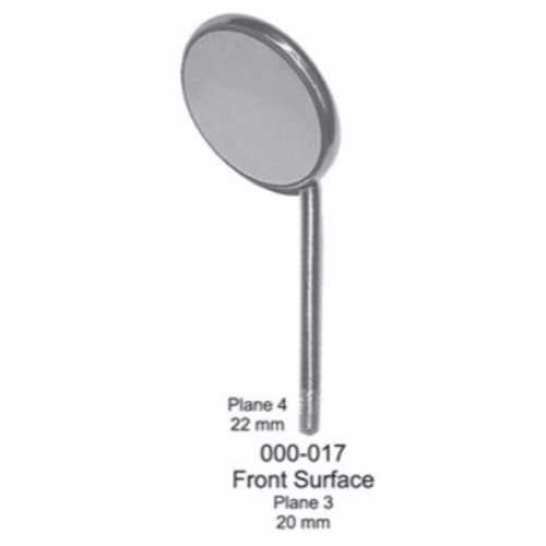 Mouth Mirror Front Surface - Plane #4, 22mm (12/pk)