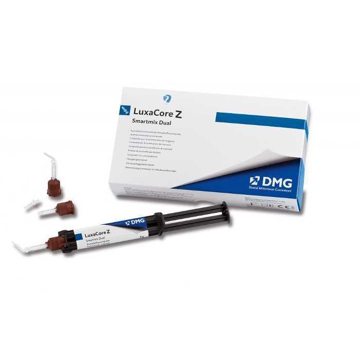 DMG LuxaCore Z-Dual Smartmix A3 (48g Cartridge) - Composites for Core Build-up