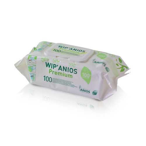 Wip'Anios Excel Disinfectant Wipes (100pcs/pk)