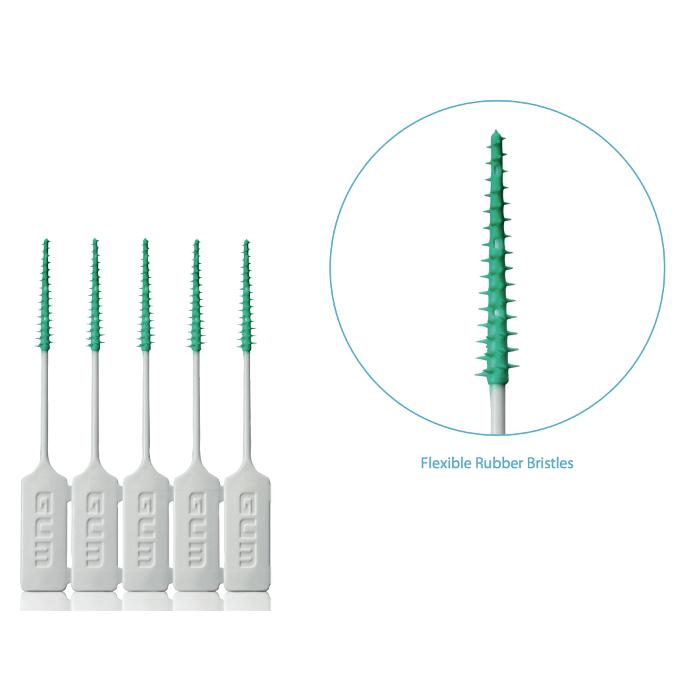 Sunstar GUM® Soft-Picks® (12 Packets x 40/pk) - Disposable Interdental Brushes