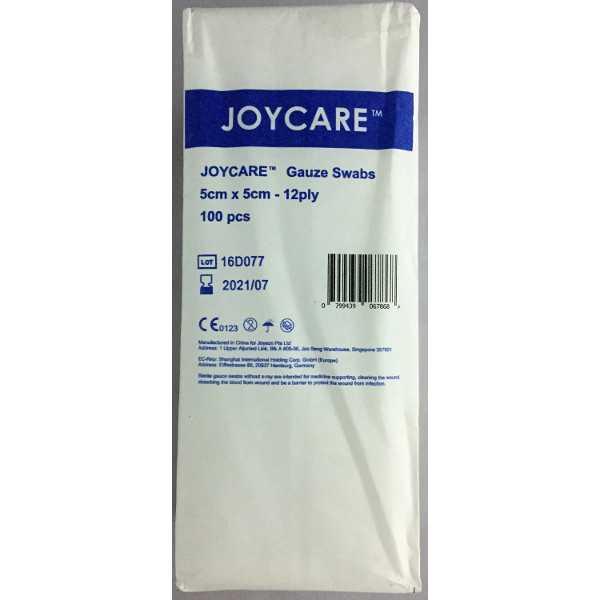 Gauze Swabs Non-sterile 5cm x 5cm x12ply (100's)