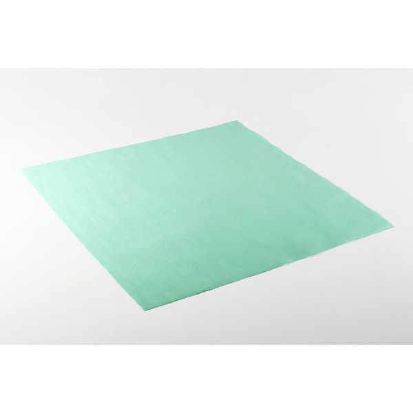 Light Duty Sterilising Crepe Sheet - 50cm x 50cm, Green (500/box)