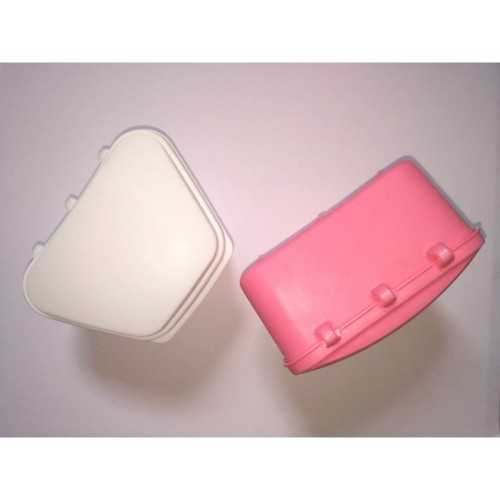 PROMO 100+10 Packs: Trapezoidal Denture Bath Boxes - Assorted,99mm x 77mm x 59mm