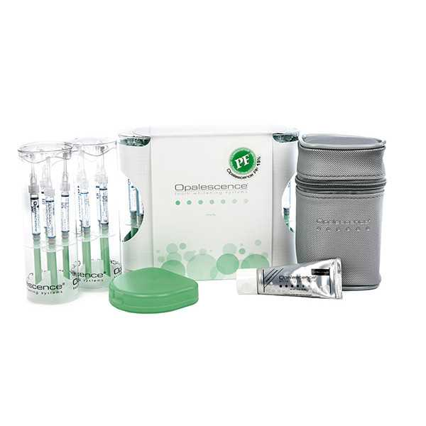 Ultradent® Opalescence PF 15%  Patient Kit (Mint) - Whitening System
