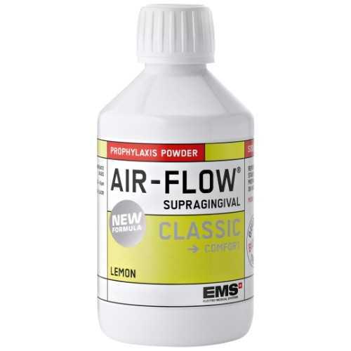 EMS AIR-FLOW® Supragingival Classic Comfort Sodium Bicarbonate Powder - Lemon (4 x 300g)