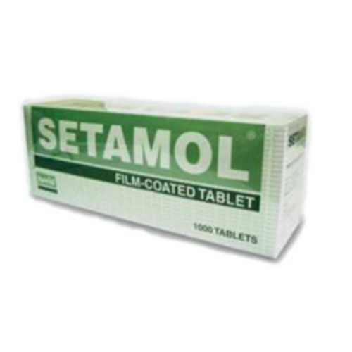 Hovid Setamol Tablet 20mg E/C (100 Tablets)