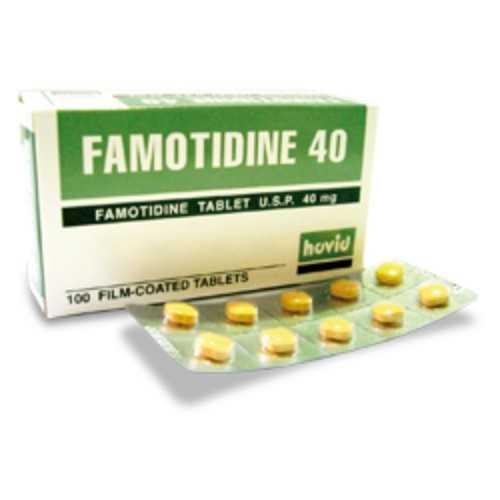 Hovid Famotidine 40mg Film-Coated Tablet (100 Tablets/Box)