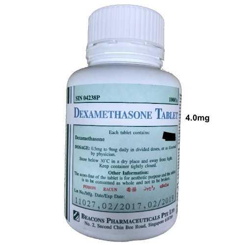 Beacons Dexamethasone Tab 4.0mg (1000 Tablets)