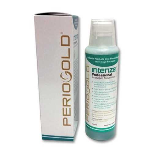Periogold Intenze Professional Antiseptic Mouthrinse/Mouthwash - Cetylpyridinium Chloride 0.05% (250ml)