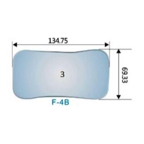 Photography Mirror #3 (F-4B) - 134.75 x 69.33mm