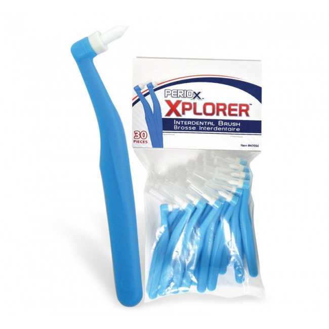 Maxill Economy Pack End Tuft Brushes - Periox Explorer (30pcs)