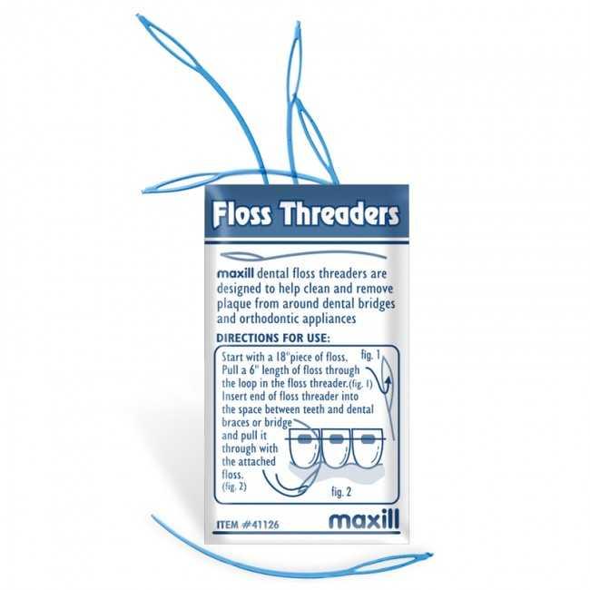 Maxill Floss Threaders - Small Loop (5pcs/envelope)