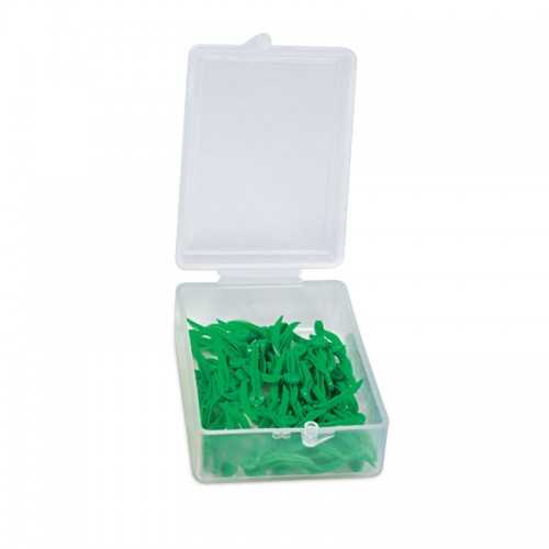 Maxill Plastic Wedge with Holes - Size S(100pcs)