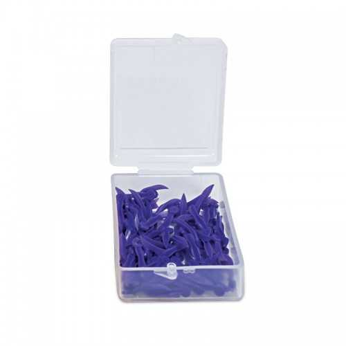 Maxill Plastic Wedge with Holes - Size L(100pcs)