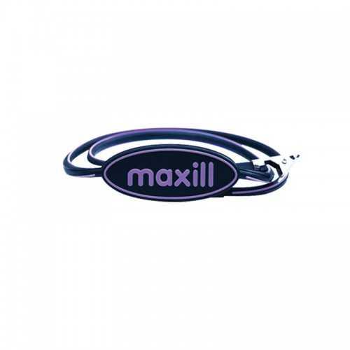 Maxill Autoclavable Silicone Bib Clip - Purple