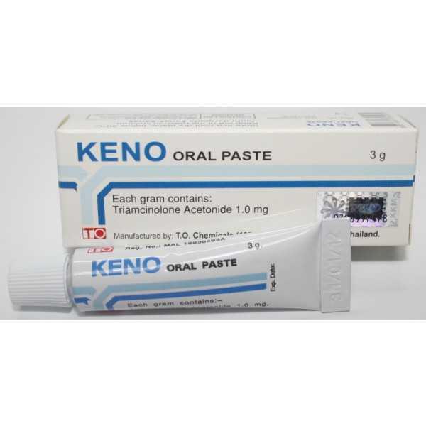 PROMO 25+9 Tubes: Keno Oral Paste(3g)