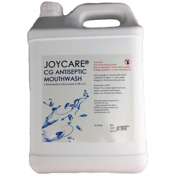 PROMO 9+4 Bottles: Chlorhexidine Gluconate Mouthwash, Mint (4L)