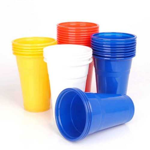 7 oz. Plastic Cups Coloured (2000pcs)