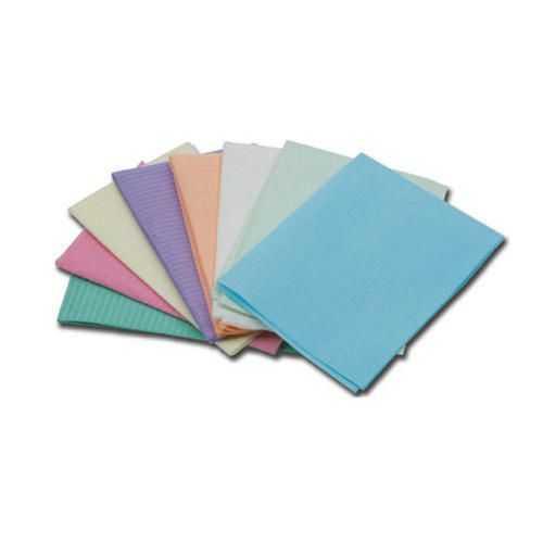 Dental Bibs 2Ply Polymer Coated - Mix Colour (500pcs)