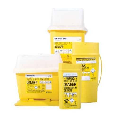 Biohazard Sharp Disposal Box - 10L