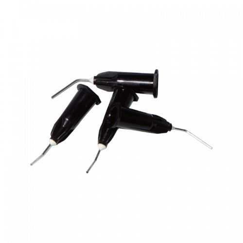 Disposable Flow Tips - Black 20g, 0.90mm (100pcs) for Flowable Composite & Etching Gel